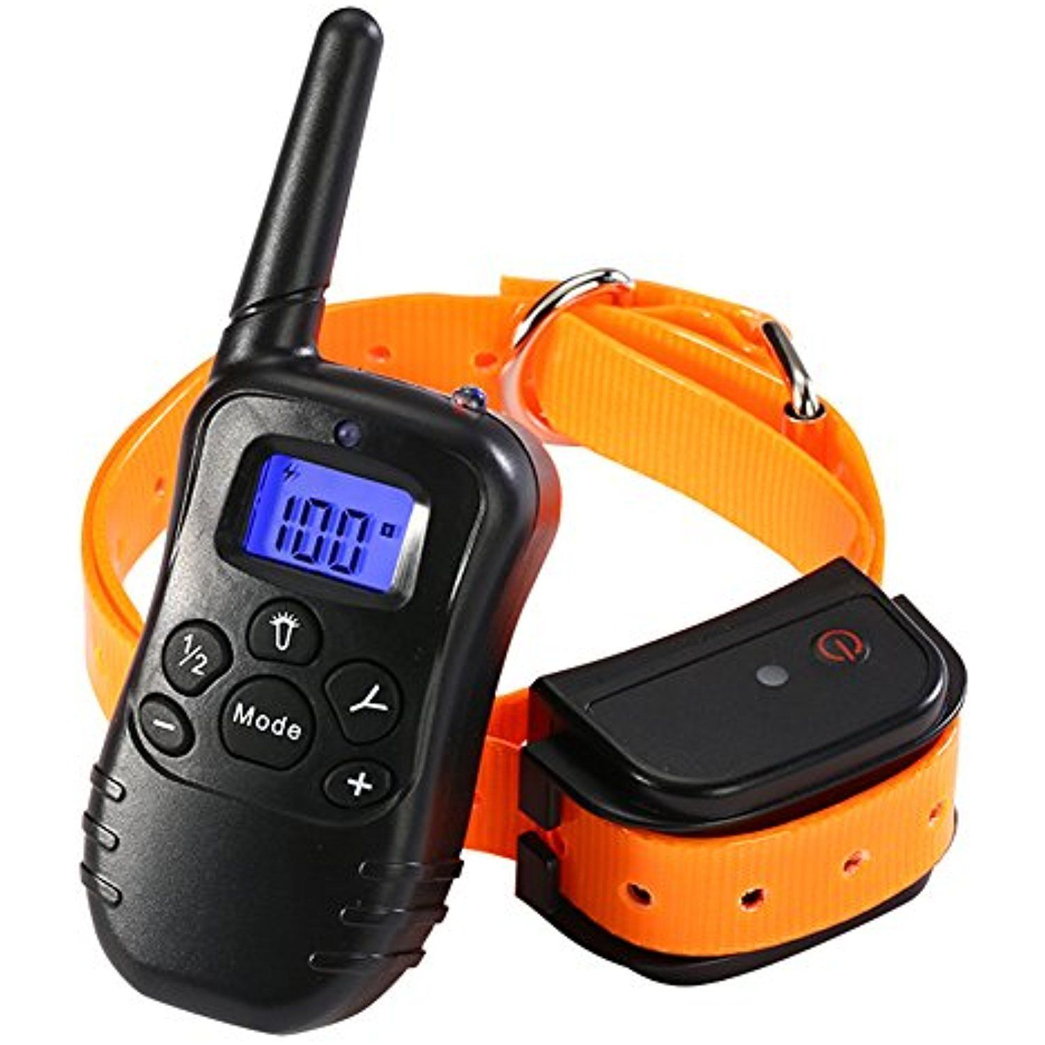 Remote Dog Training Collar Rechargeable And 100 Waterproof Dog