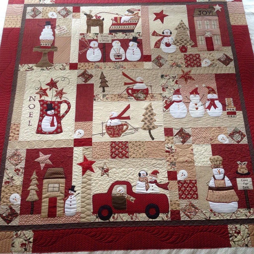 Alvena S Applique Christmas Quilt Christmas Applique Patterns Christmas Quilt Patterns Christmas Quilt