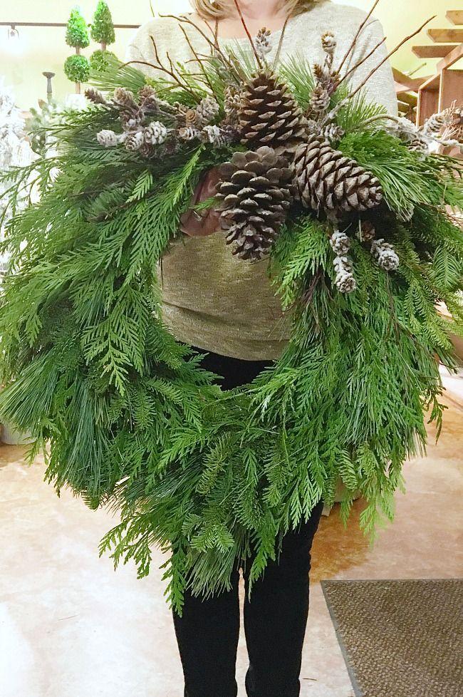 Photo of Ghirlanda di Natale fresca fai da te – pulita e profumata