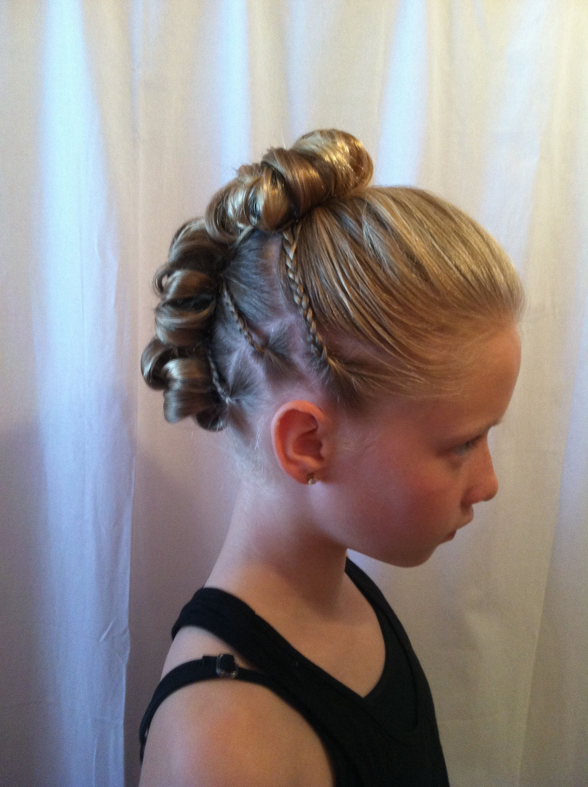 Pin By Ava On Dance Dance Competition Hair Dance Hairstyles Competition Hair