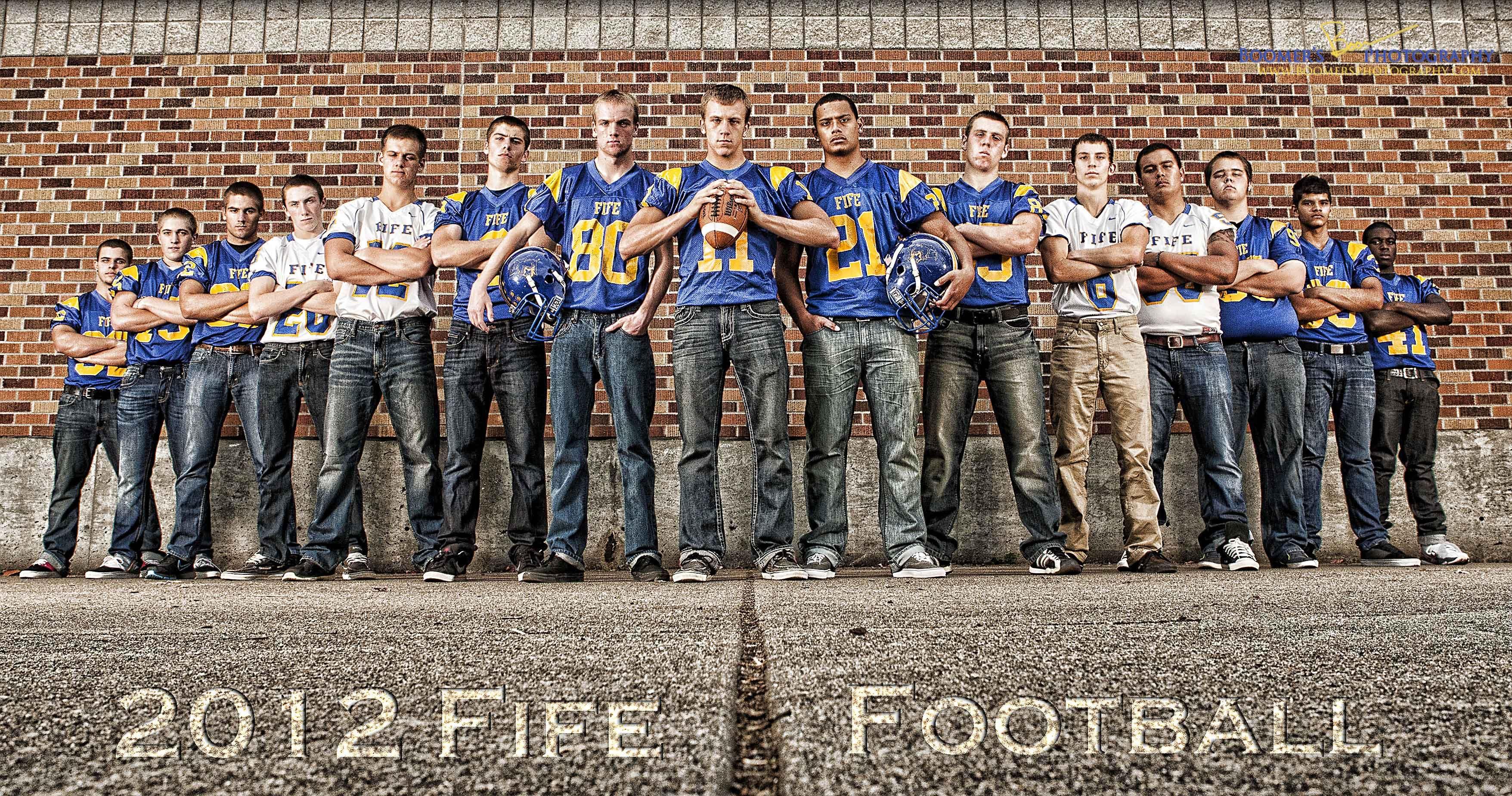 Fife High School Boomer's Photography Football team