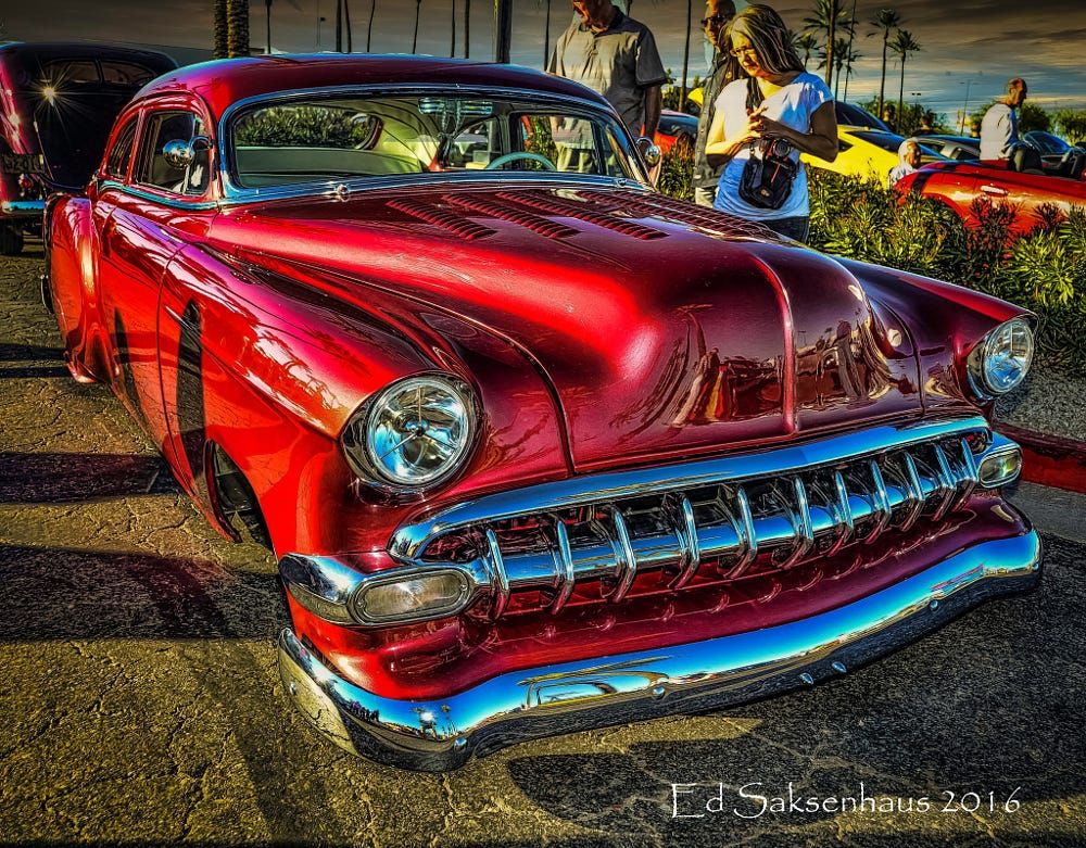 Classic Vintage Custom Beauty at the Scottsdale Car Show--Pavilions Mall. by Edward Saksenhaus on 500px