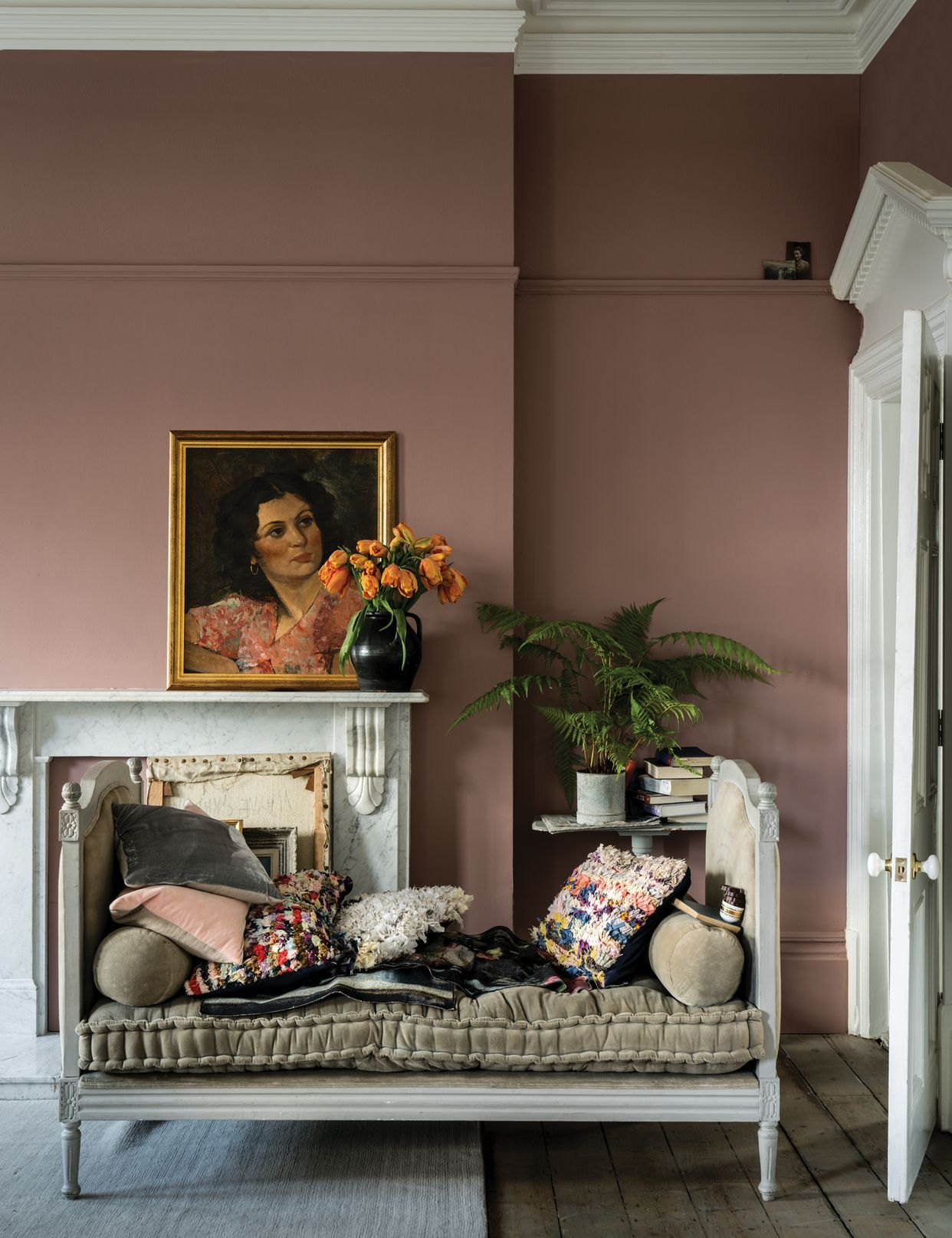 Best Colour Study Farrow And Ball Sulking Room Pink The New 400 x 300