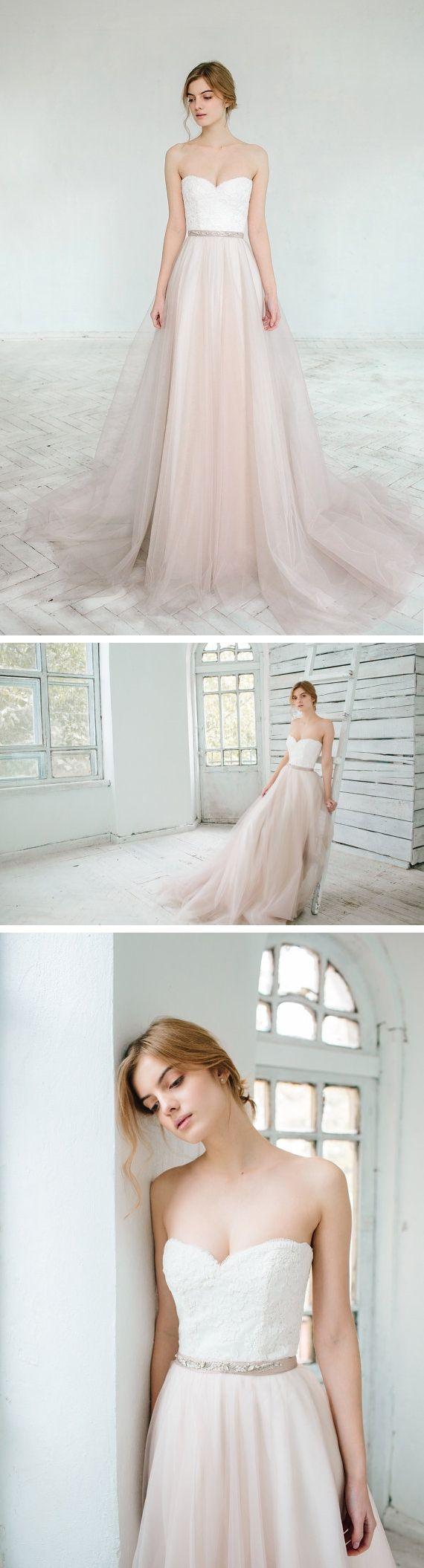 Simple off white wedding dresses  Wedding Dress Of The Week  A Blushing Bride  MAG u O wedding