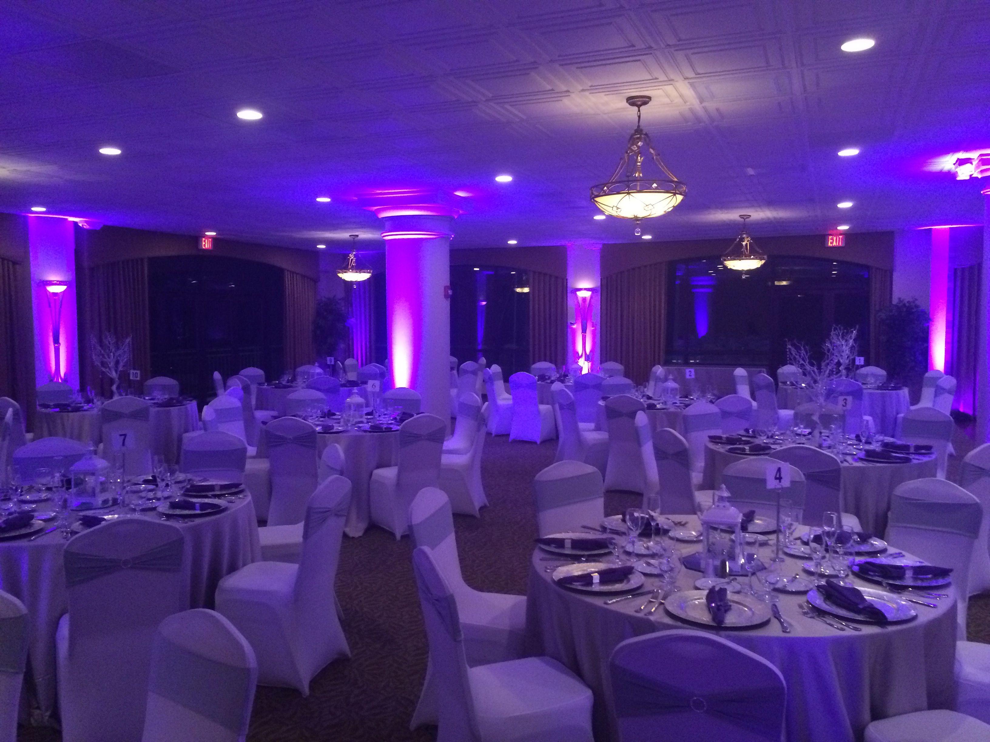 Harbour View Woodbridge Va Wedding Reception Lighting