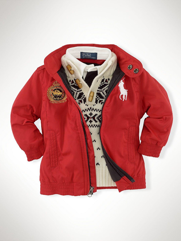 Stuttgart Jacket Outerwear Jackets Infant Boy 9m 24m Ralphlauren Com Shopping Outfit Outerwear Jackets Clothes [ 1440 x 1080 Pixel ]