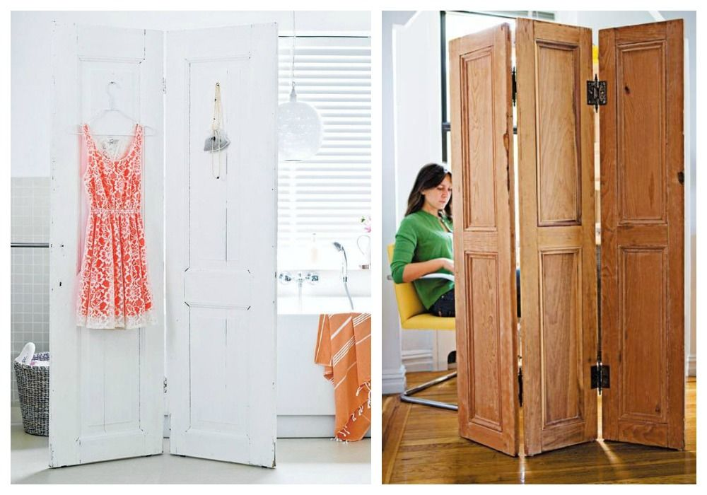 Ideas para reciclar puertas viejas de madera colors for Reciclar puertas