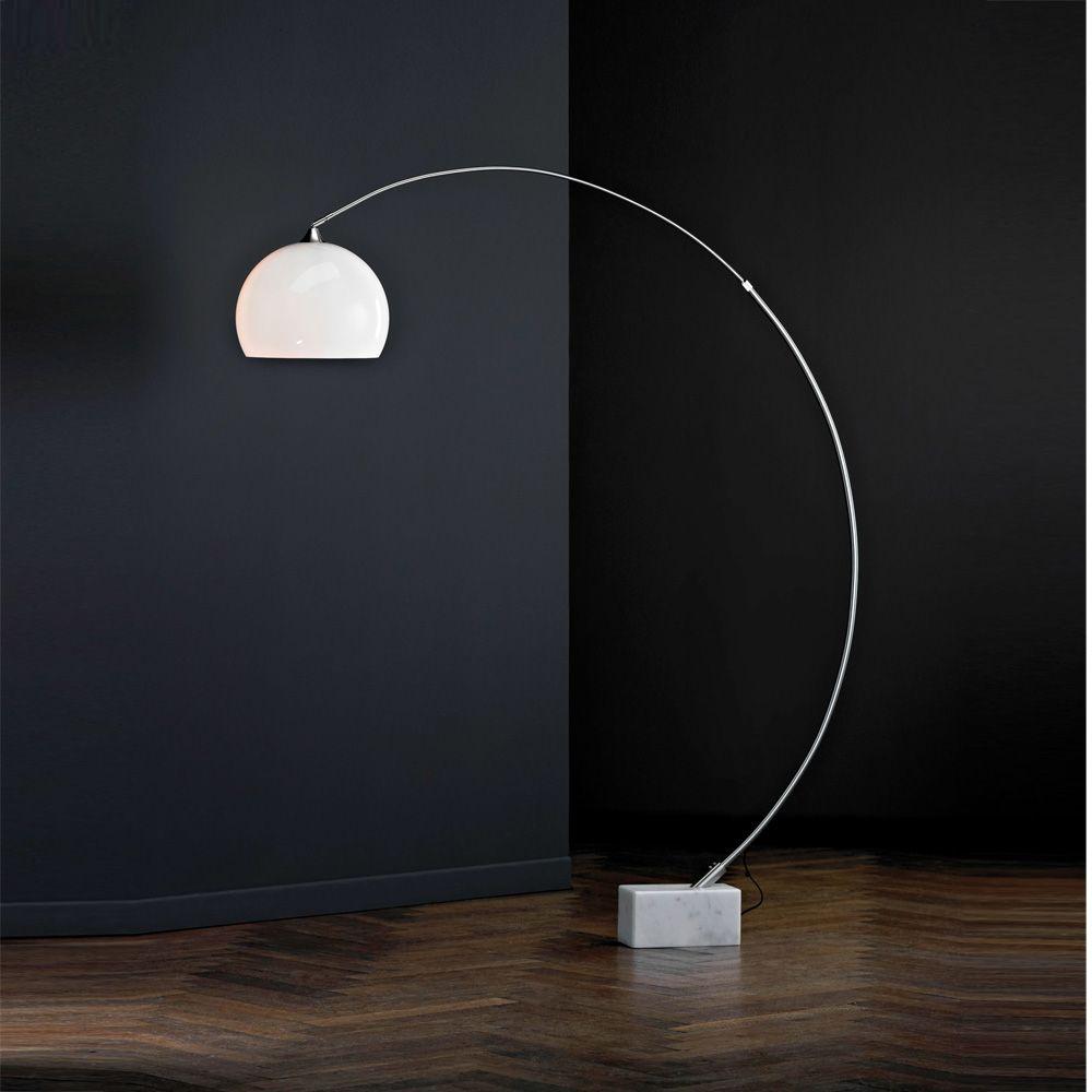 Paul Neuhaus Curved Floor Lamp