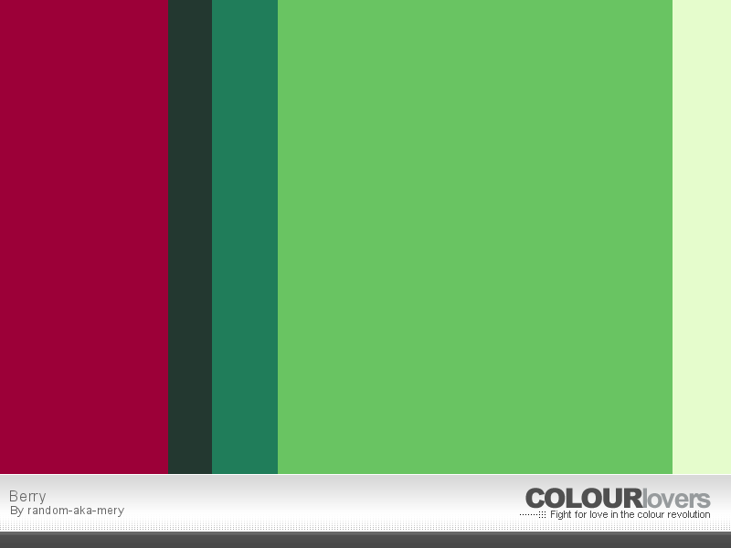 Color Palette Berry Complementary Colors Red And Green Complementary Colors Color Palette Palette