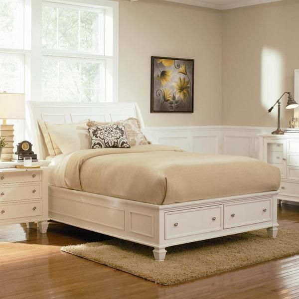 Nicholson 4-piece White Bedroom Set Overstock For the Home