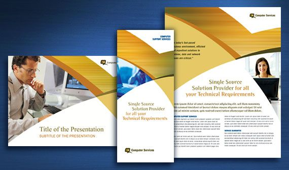 Computer Services & Consulting Brochure, Datasheet, Flyer & Ads ...