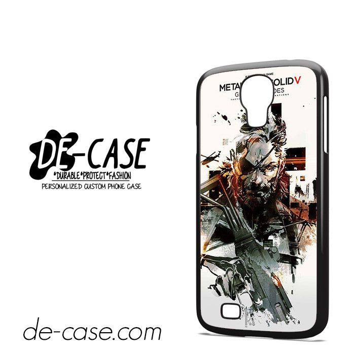Metal Gear Solid V DEAL-7082 Samsung Phonecase Cover For Samsung Galaxy S4 / S4 Mini