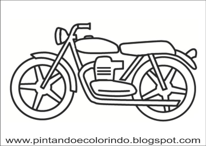 Desenhos Para Colorir Moto Para Colorir Desenho Moto Desenhos