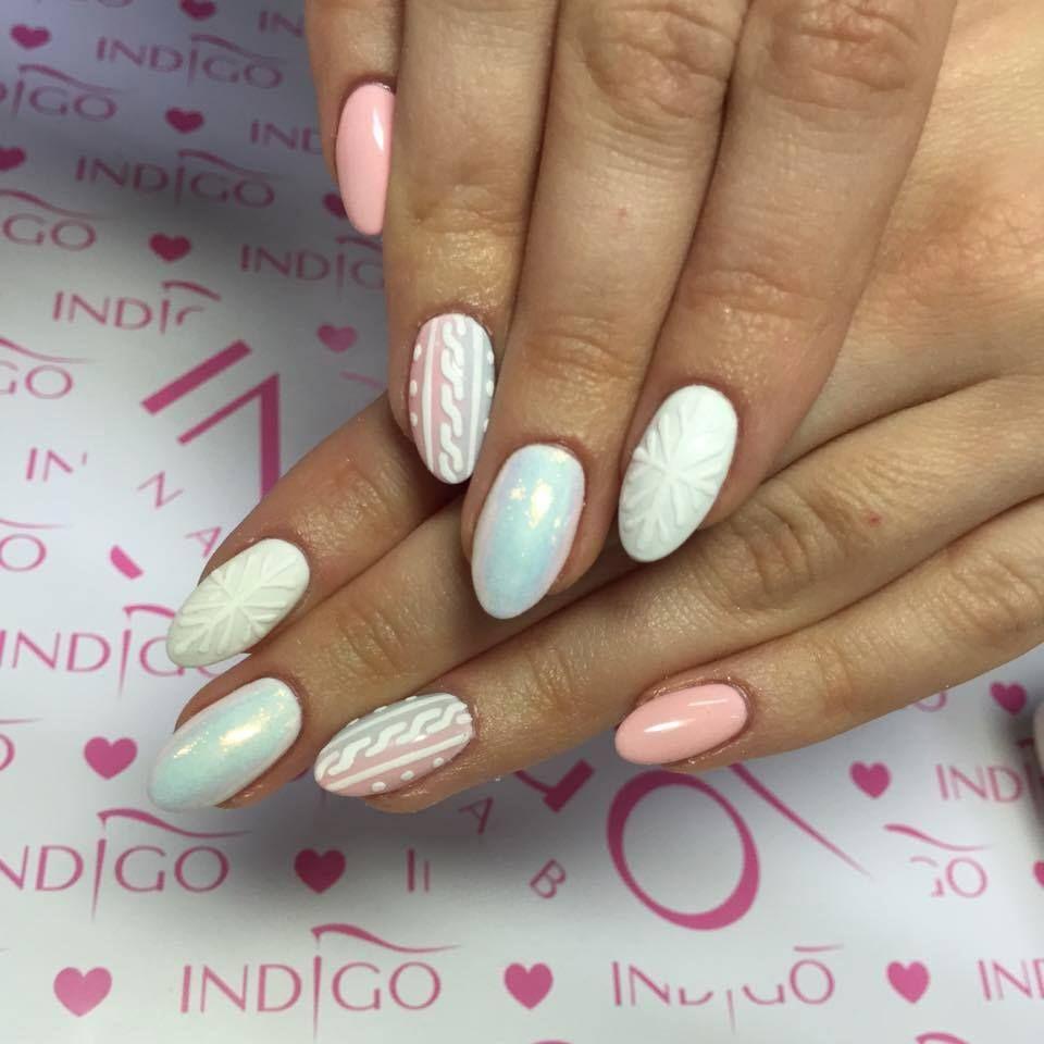 White Yacht Club Gel Brush Little Pink Gel Polish Efekt