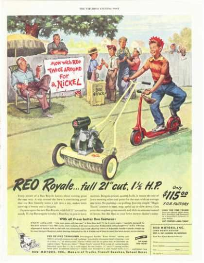Vintage Tools And Gadgets Of The 1940s Lawn Mower Old Advertisements Retro Ads