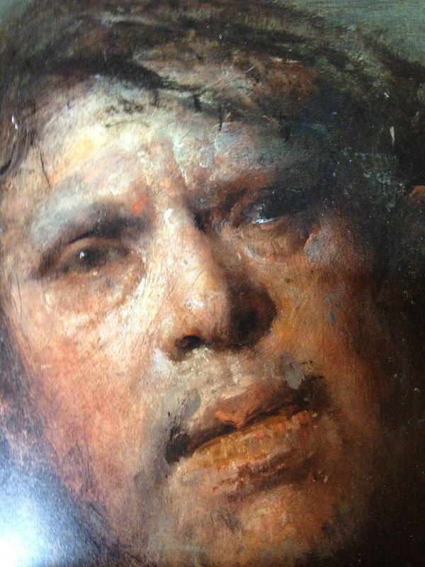 Odd Nerdrum - Self Portrait (detail)