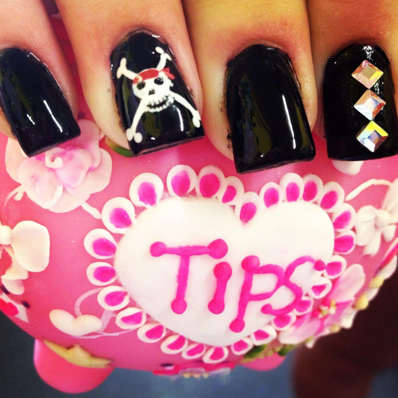 Pirates nails | Pirate nails, Halloween nails, Nails