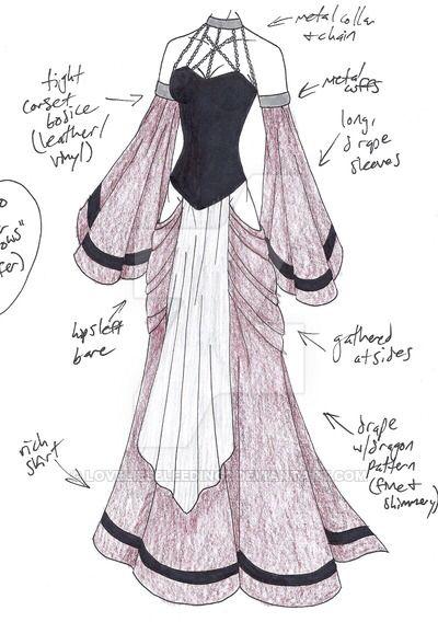 Pin von kay auf outfits pinterest zeichnungen - Kleider zeichnen ...