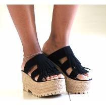 5c8a1f5a Sandalia Sueco Zapato Plataforma Alta Mujer Verano Moda 2017 ...
