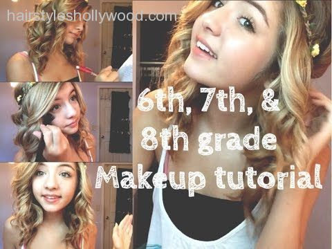 how to do makeup for 8th grade  http