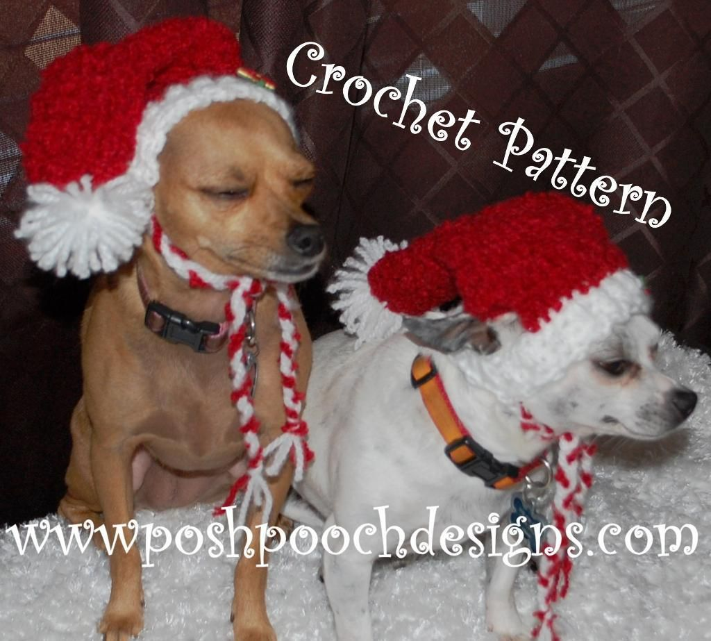 Red Boucle\' Dog Stocking Christmas Hat | Pinterest | Christmas hat ...