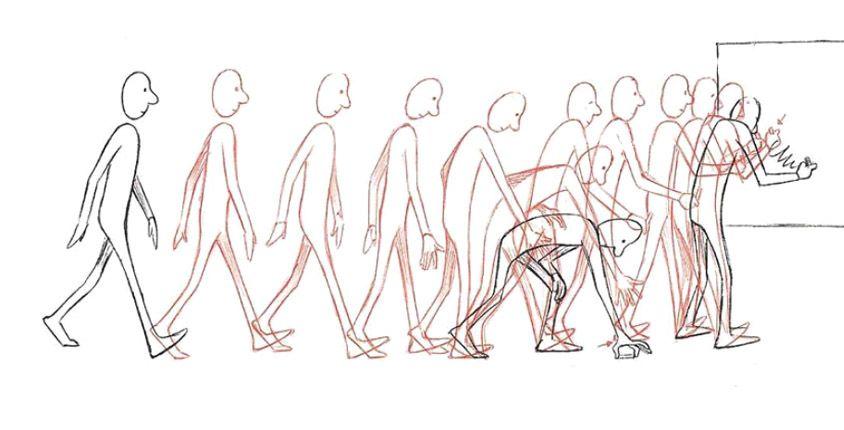 key frames caminata *Reptiliam Visual es una agencia de publicidad siempre a la vanguardia, conoce las ventajas que te ofrecemos. www.reptiliamvisual.com.co