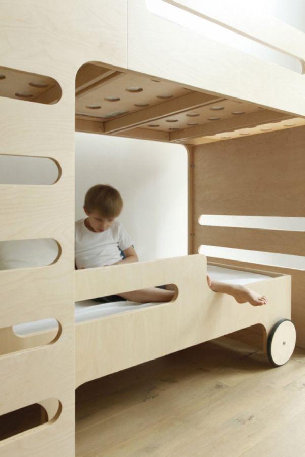 Wenn Geschwister ein Zimmer teilen \u2013 Das moderne Etagenbett FR - das moderne kinderzimmer