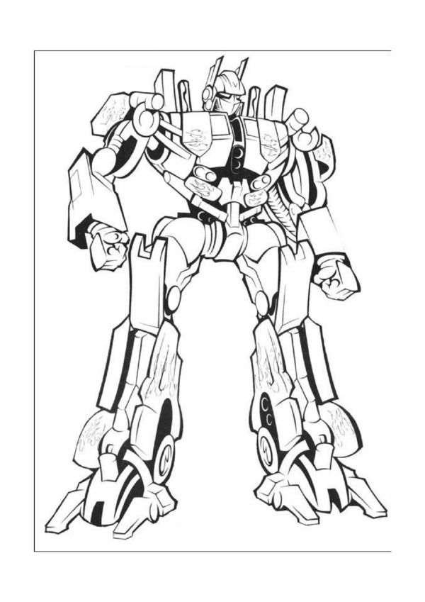 Transformer Printable Coloring Pages | Transformers birthday | Pinterest