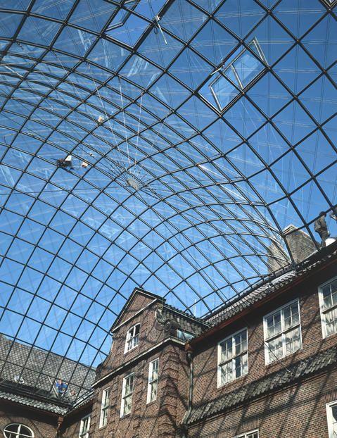 1989 Germany Hamburg Museum Of Hamburg History Glass Roof Glass Roof Roof Architecture
