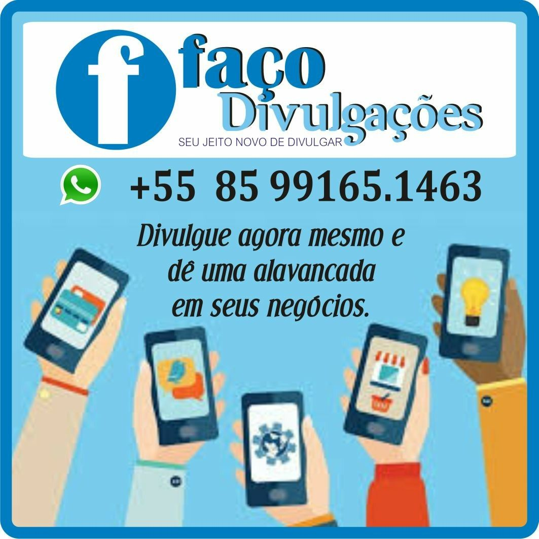 ▫Divulgação em grupos (#Facebook, #Whatsapp ou #Telegram