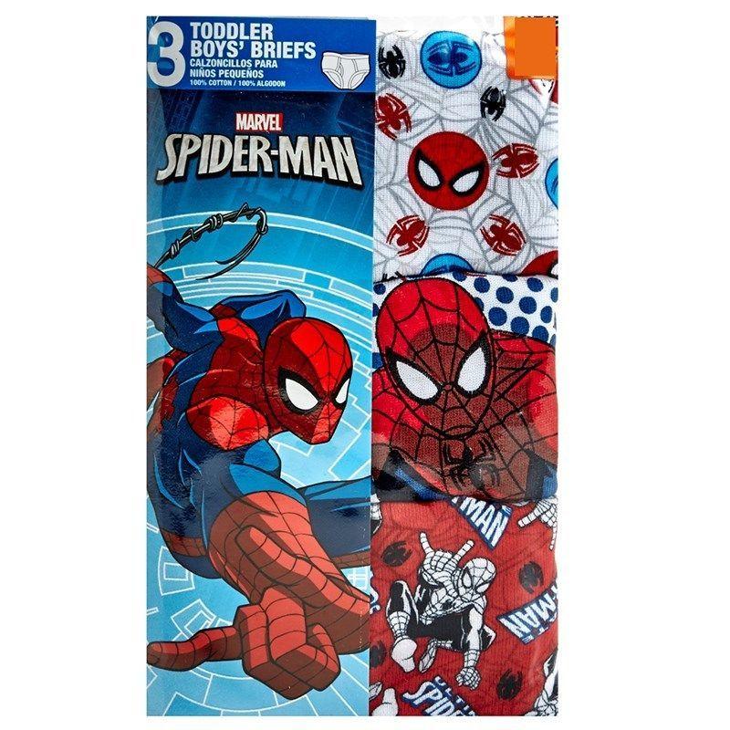 Marvel SpiderMan 3 Toddler Boys Briefs Size 2T/3T New Marvel