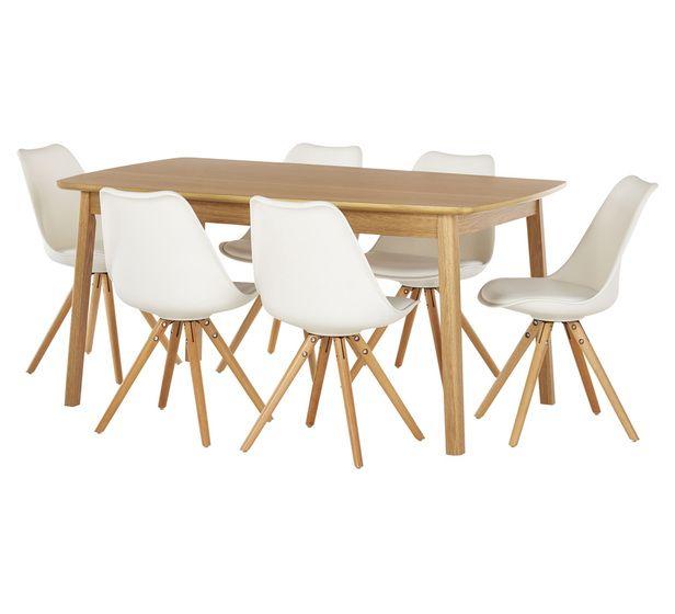 Retro 7pc Dining Set 849 Fantastic Furniture Dining Chair