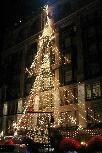 New York City 2007 Macy S Holiday Display Christmas