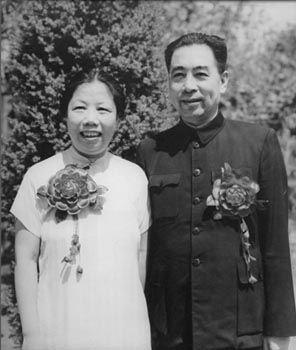 Zhou Enlai, Premier of China with his wife Deng Yingchao.