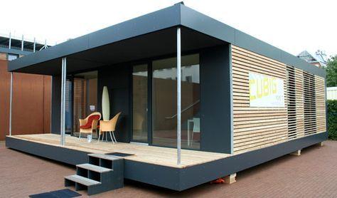 neues wohnen im cubig designhaus minihaus immobilien. Black Bedroom Furniture Sets. Home Design Ideas