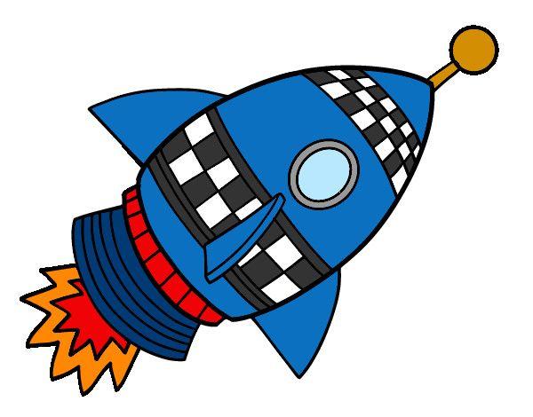 Cohete De Astronauta Y Vintage De Dibujos Animados: Pin De Laura Serrano En Orla Universo