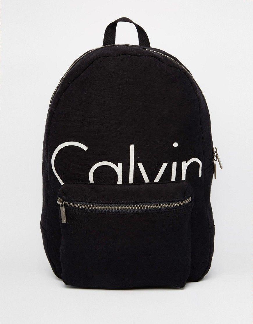 000a0067aa5 Calvin+Klein+Backpack+Logo | Backpacks | Klein backpack, Bags ...