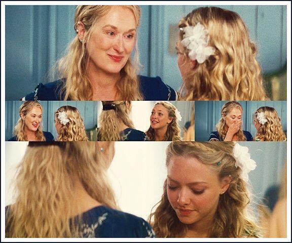 Love Her Hair Mamma Mia Wedding Mamma Mia Wedding Dress
