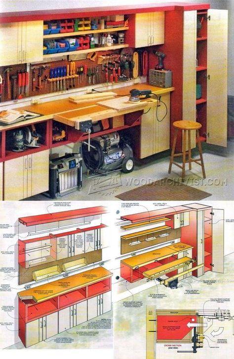 One Wall Workshop Plan Meuble Atelier