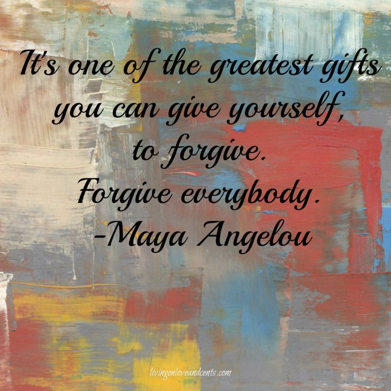 Forgiveness: Why You Need To Let It Go!