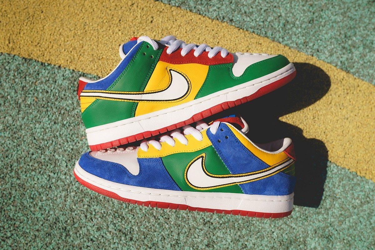Nike traz sneaker em colaboração com a LEGO | Nike sb, Nike
