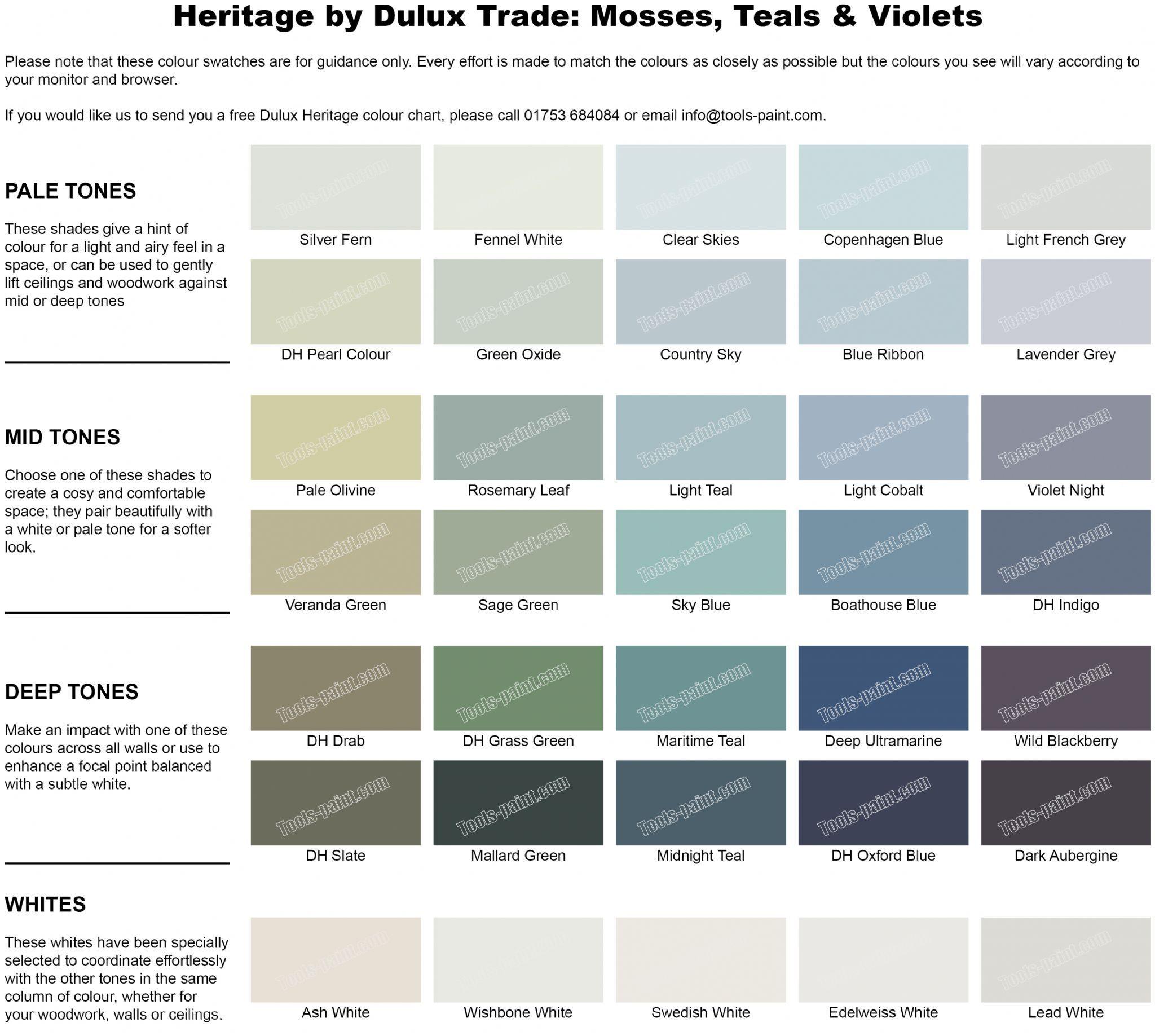 Dulux Heritage Boathouse Blue Dulux Heritage Dulux Dulux Heritage Colours