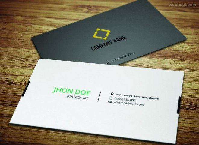 50 Creative Corporate Business Card Design Examples Design Inspiration Corporate Business Card Business Card Design Free Business Card Templates