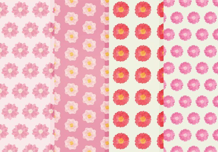 Vector Flower Patterns -   Grab this free set of patterns, in both AI and EPS format. Hope you enjoy it!  - https://www.welovesolo.com/vector-flower-patterns/?utm_source=PN&utm_medium=weloveso80%40gmail.com&utm_campaign=SNAP%2Bfrom%2BWeLoveSoLo