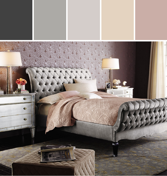 old hollywood glamour bedroom designedhorchow via stylyze