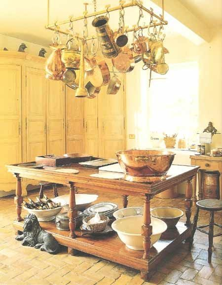 Pin by a lewis on Copper kitchen in 2018 French country kitchens