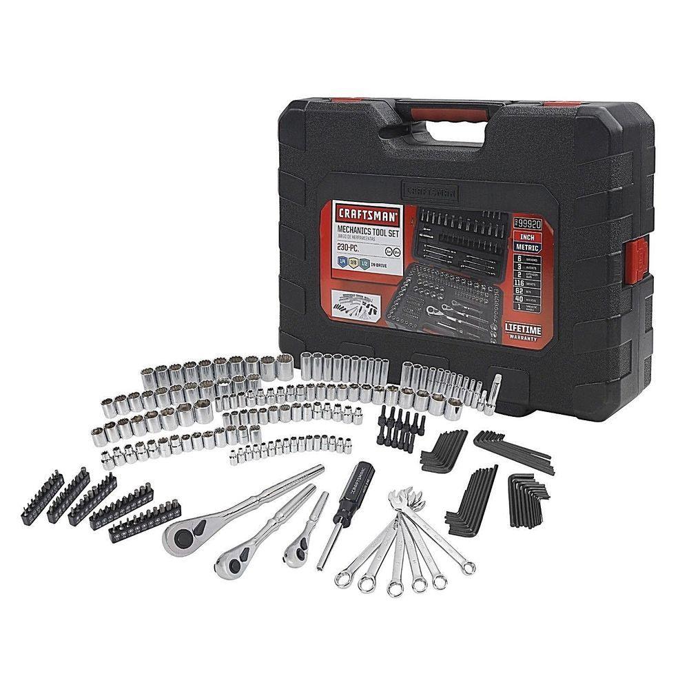 craftsman 230 piece mechanic