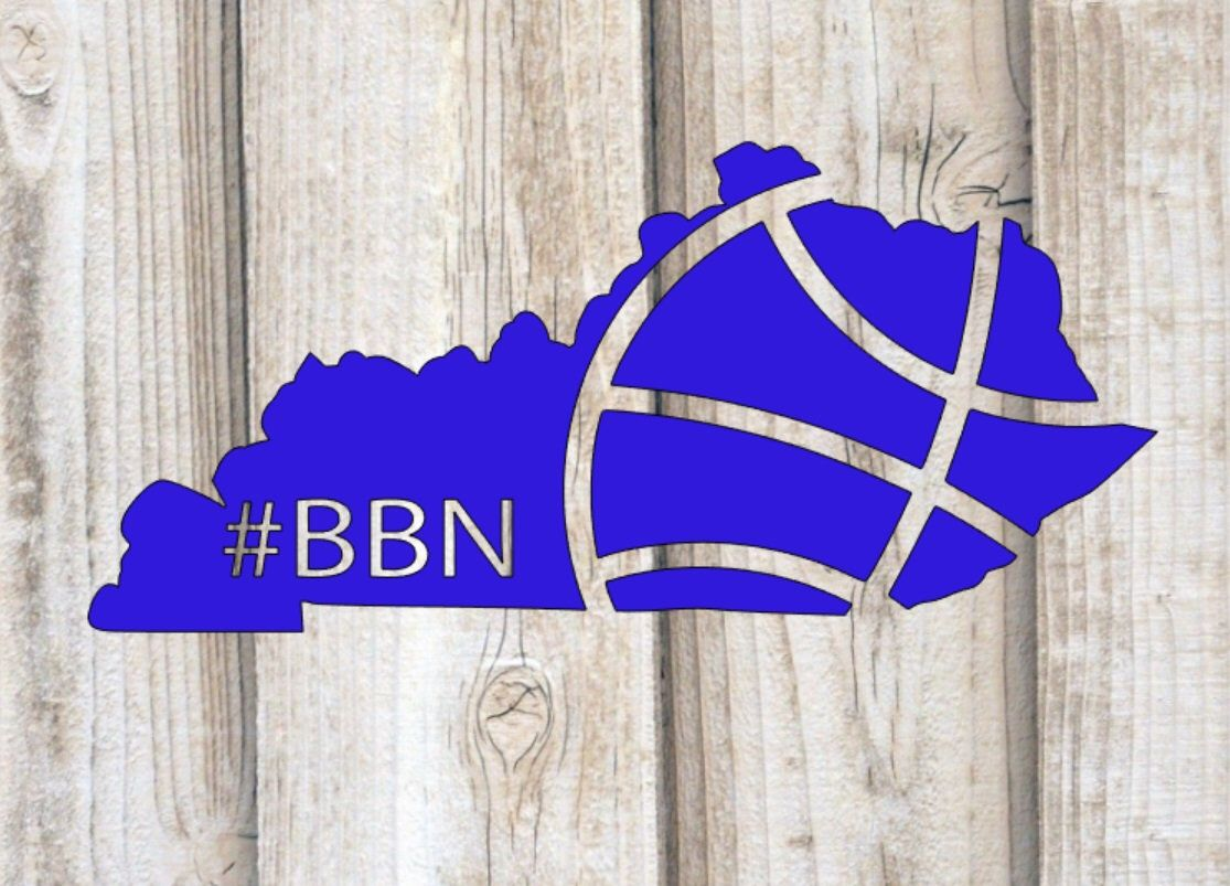 Kentucky Basketball State,Big Blue Nation,Digital Download
