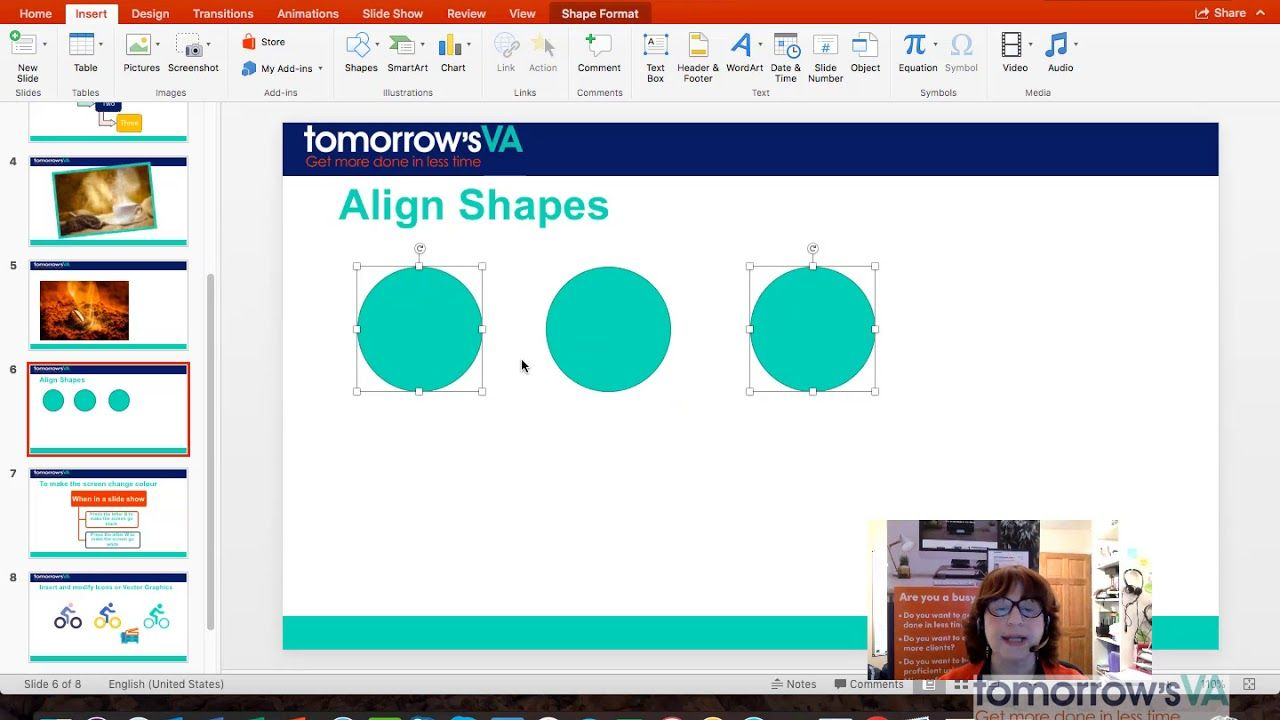 How to duplicate shapes in PowerPoint 2016 for Mac