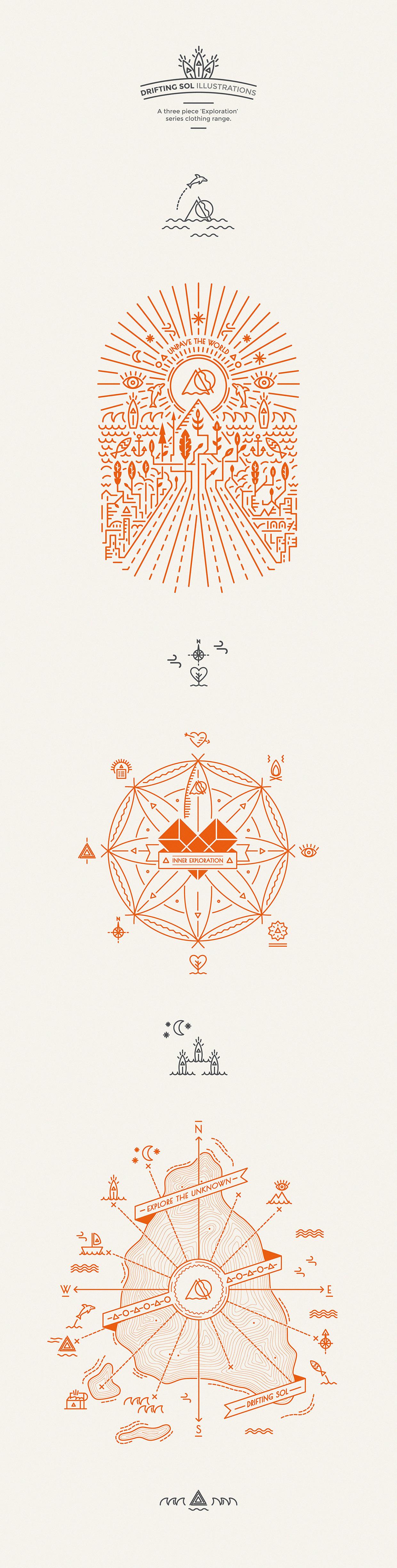 Drifting Sol | Illustrations on Behance